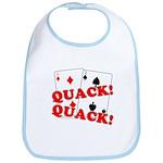 Duces (Ducks) Poker Bib