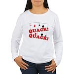 Duces (Ducks) Poker Women's Long Sleeve T-Shirt