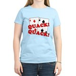 Duces (Ducks) Poker Women's Light T-Shirt