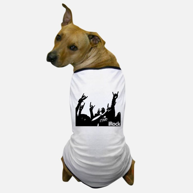 Rock On Colorful Dog T-Shirt