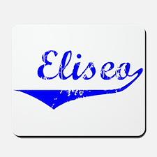 Eliseo Vintage (Blue) Mousepad