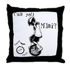 SpokeN Chain Throw Pillow