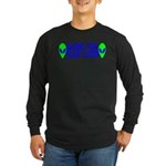 Aliens For Hillary Clinton Long Sleeve Dark T-Shir