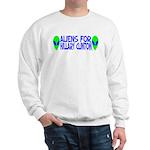 Aliens For Hillary Clinton Sweatshirt