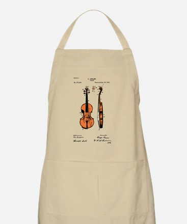 Fiddle Patent BBQ Apron