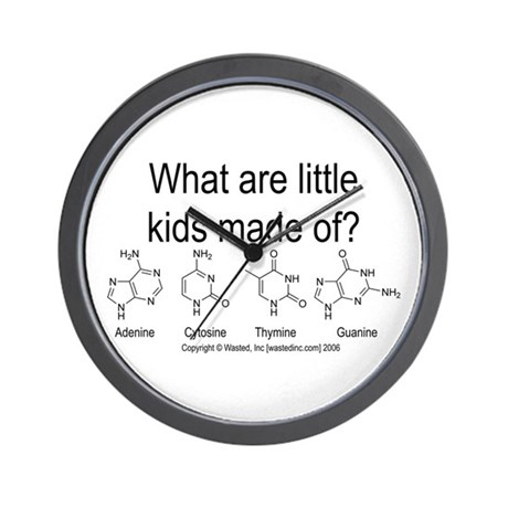 DNA Kids Wall Clock