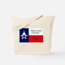 McLennan County Flag Tote Bag