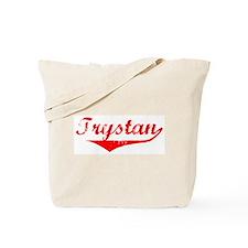 Trystan Vintage (Red) Tote Bag