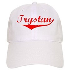 Trystan Vintage (Red) Baseball Cap