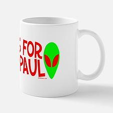 Aliens For Ron Paul Mug