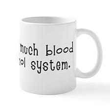 Drink it down. Mug
