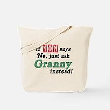 Just Ask Granny! Tote Bag