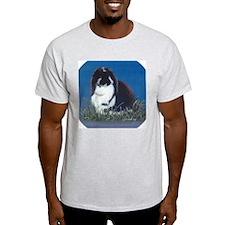 French Lop Bunny Ash Grey T-Shirt