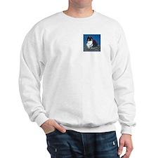 French Lop Bunny Sweatshirt Ash Grey