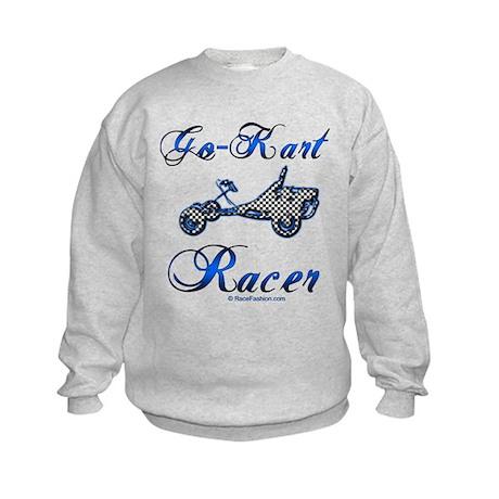 Go-Kart Racer Kids Sweatshirt
