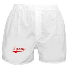 Tyson Vintage (Red) Boxer Shorts