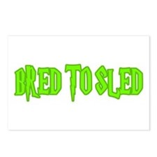 Bred to Sled... Postcards (Package of 8)