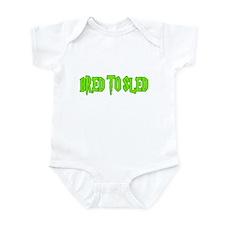 Bred to Sled... Infant Bodysuit