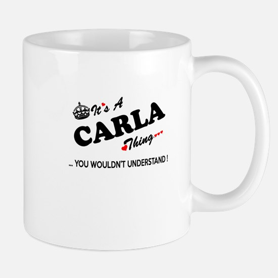 CARLA thing, you wouldn't understand Mugs