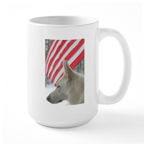 Keeping Watch Large Mug