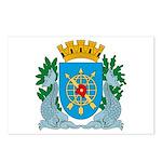 Rio De Janeiro Coat of Arms Postcards (Package of