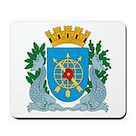 Rio De Janeiro Coat of Arms Mousepad