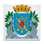 Rio De Janeiro Coat of Arms Tile Coaster