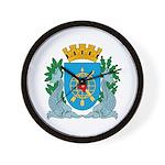 Rio De Janeiro Coat of Arms Wall Clock