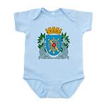 Rio De Janeiro Coat of Arms Infant Creeper