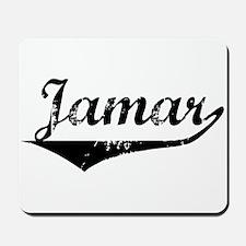 Jamar Vintage (Black) Mousepad
