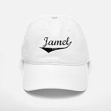 Jamel Vintage (Black) Baseball Baseball Cap