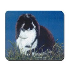French Lop Bunny Mousepad