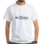 iMom Blue Mother's Day White T-Shirt