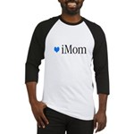 iMom Blue Mother's Day Baseball Jersey