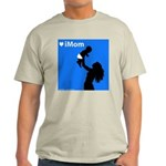 iMom Blue Mother's Day Light T-Shirt