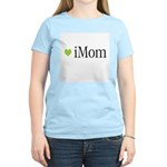 iMom Green Mother's Day Women's Pink T-Shirt