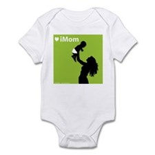 iMom Green Mother's Day Infant Creeper