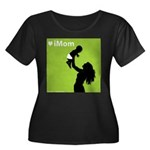 iMom Lime Green Mother's Day Women's Plus Size Sc