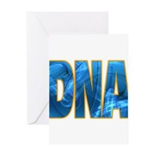 Unique Dna Greeting Card