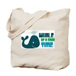 Whale of a Good Time Tote Bag