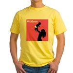 iDad Pink Father & Baby Yellow T-Shirt