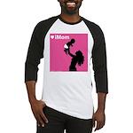 iDad Pink Father & Baby Baseball Jersey