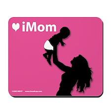 iDad Pink Father & Baby Mousepad