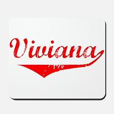 Viviana Vintage (Red) Mousepad