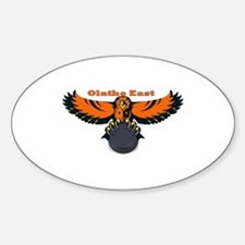 Olathe East Oval Decal