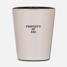 Property of ZAC Shot Glass