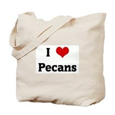 I Love Pecans Tote Bag