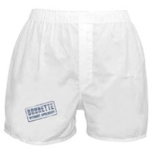 Brunette Without Apologies Boxer Shorts
