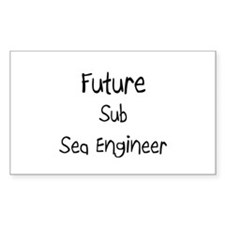 Future Sub Sea Engineer Rectangle Decal
