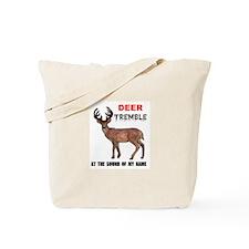 DEER TREMBLE Tote Bag